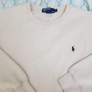 Polo Ralph Lauren Crewneck Sweatshirt Beige Cream